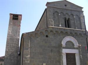 La Pieve di San Piero in Campo, Montecarlo, Lucca. Author and Copyright Marco Ramerini