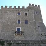 La Rocca Aldobrandesca, Manciano, Grosseto. Author and Copyright Marco Ramerini