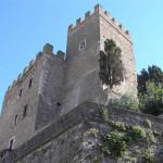 La Rocca Aldobrandesca, Manciano, Grosseto.. Author and Copyright Marco Ramerini