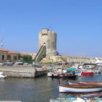 Torri della Costa Toscana. La Torre Pisana, Marciana Marina, Isola d'Elba, Livorno. Author and Copyright Marco Ramerini