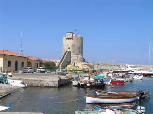 La Torre Pisana, Marciana Marina, Isola d'Elba, Livorno. Author and Copyright Marco Ramerini