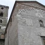 La chiesa romanica di San Michele, Coreglia Antelminelli, Lucca. Author and Copyright Marco Ramerini