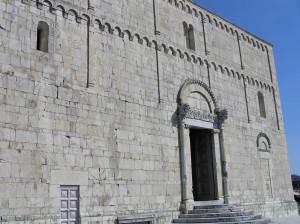 La facciata del Duomo, Barga, Lucca. Author and Copyright Marco Ramerini