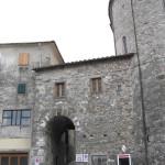 La porta d'accesso principale, Coreglia Antelminelli, Lucca. Author and Copyright Marco Ramerini
