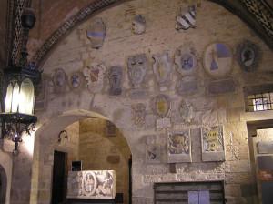 L'atrio del Palazzo dei Priori, Volterra. Author and Copyright Marco Ramerini