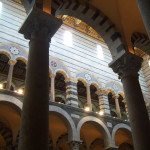 L'interno del Duomo, Pisa. Author and Copyright Nello e Nadia Lubrina