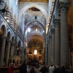 L'interno del Duomo, Pisa. Author and Copyright Nello e Nadia Lubrina.