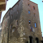 Palazzo Comunale, Scarlino, Grosseto. Author and Copyright Marco Ramerini
