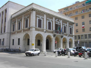 Palazzo Granducale, Livorno. Author and Copyright Marco Ramerini
