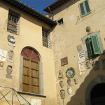 Palazzo Pretorio, Vicopisano, Pisa. Author and Copyright Marco Ramerini