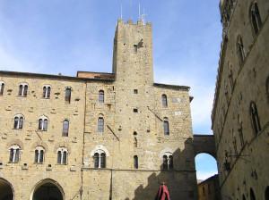Palazzo Pretorio, Volterra. Author and Copyright Marco Ramerini.