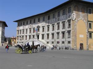 Palazzo dei Cavalieri, Piazza dei Cavalieri, Pisa. Author and Copyright Marco Ramerini