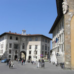 Palazzo dell'Orologio, Piazza dei Cavalieri, Pisa. Author and Copyright Marco Ramerini