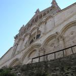 Particolare della facciata del Duomo, Massa Marittima, Grosseto.. Author and Copyright Marco Ramerini
