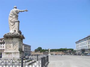 Piazza della Repubblica, Livourne. Author and Copyright Marco Ramerini