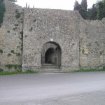 Porta Docciola, Volterra. Author and Copyright Marco Ramerini