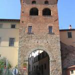 Porta Fiorentina, Montecarlo, Lucca. Author and Copyright Marco Ramerini