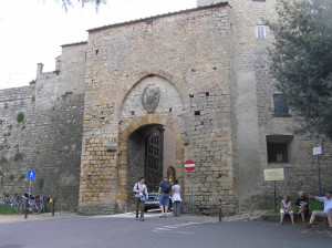 Porta Fiorentina, Volterra. Author and Copyright Marco Ramerini