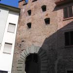 Porta Fiorentina o Porta Vettori, Altopascio, Lucca. Author and Copyright Marco Ramerini