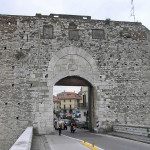 Porta Mercatale, Prato. Author and Copyright Marco Ramerini