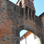 Porta Pesciatina o Porta Mariani, Altopascio, Lucca. Author and Copyright Marco Ramerini