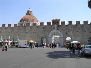 Porta Santa Maria, Pisa. Author and Copyright Marco Ramerini