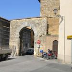 Porta dell'Abbondanza (lato esterno), Massa Marittima, Grosseto. Author and Copyright Marco Ramerini