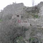 Resti della cinta muraria del paese, Roccalbegna, Grosseto. Author and Copyright Marco Ramerini