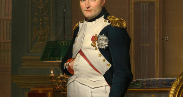 Napoleon I, peint par Jacques-Louis David, National Gallery of Art, Washington (DC). No Copyright