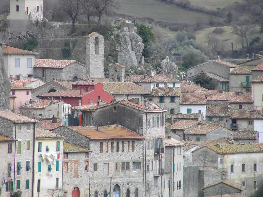 Roccalbegna, Grosseto. Author and Copyright Marco Ramerini