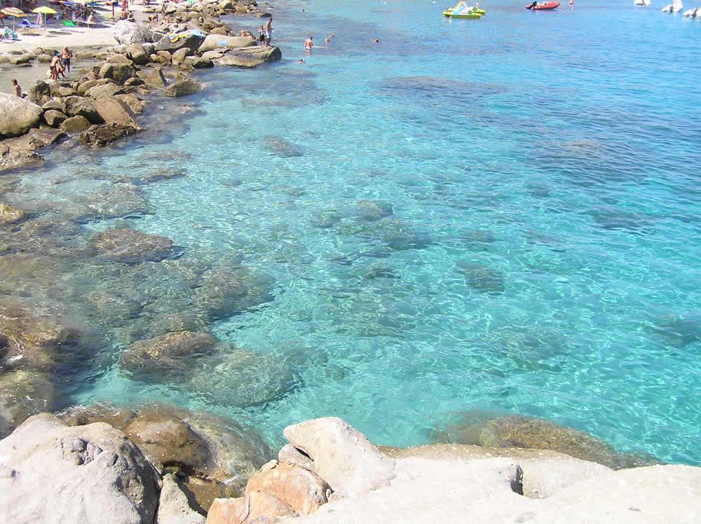 Capo Sant'Andrea, Marciana, Île d'Elbe, Livourne. Auteur et Copyright Marco Ramerini