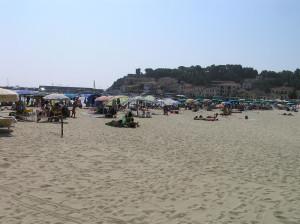 Spiaggia, Marina di Campo, Campo nell'Elba, Isola d'Elba, Livorno. Author and Copyright Marco Ramerini