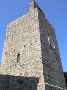 Torre del Candeliere, Massa Marittima, Grosseto. Author and Copyright Marco Ramerini