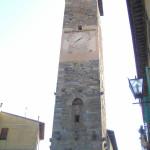 Torre dell'Orologio (XIV secolo), Vicopisano, Pisa. Author and Copyright Marco Ramerini