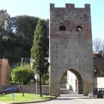 Torre delle Quattro Porte (XIV secolo), Vicopisano, Pisa. Author and Copyright Marco Ramerini