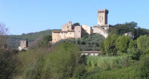 Una veduta del borgo di Vicopisano, Pisa. Author and Copyright Marco Ramerini