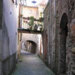 Una via, Borgo a Mozzano, Lucca. Author and Copyright Marco Ramerini