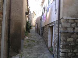 Una via, Montemassi, Roccastrada, Grosseto. Author and Copyright Marco Ramerini