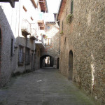 Una via caratteristica, Borgo a Mozzano, Lucca. Author and Copyright Marco Ramerini