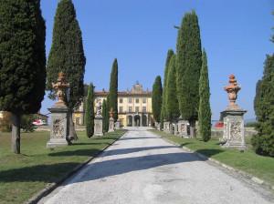 Villa Bellavista, Buggiano, Pistoia. Author and Copyright Marco Ramerini
