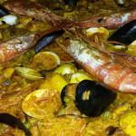 Paella de Mariscos, Ristorante spagnolo La Posta, Poggibonsi, Siena