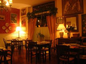 Ristorante spagnolo La Posta, Poggibonsi, Siena.