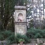 Tabernacolo nel bosco tra la cupola di San Donnino e Petrognano. Autore Marco Ramerini