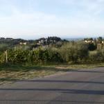 Pancole. Via Francigena da Gambassi a San Gimignano.
