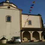Santuario di Pancole. Via Francigena da Gambassi a San Gimignano.