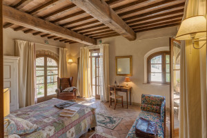 Villa Ciggiano , camera di lusso vista limonaia