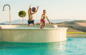 Villa Ciggiano, piscina