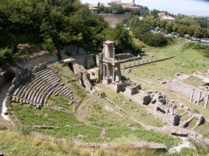 Teatro romano, Volterra