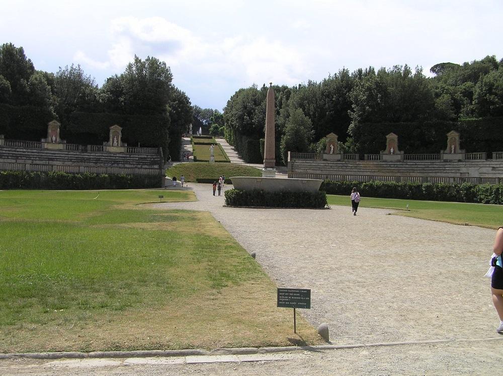 Villas des Médicis: Jardins de Boboli, Florence. Auteur et Copyright Marco Ramerini