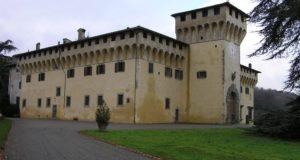 Villa de Cafaggiolo, Barberino del Mugello. Autor y Copyright Marco Ramerini